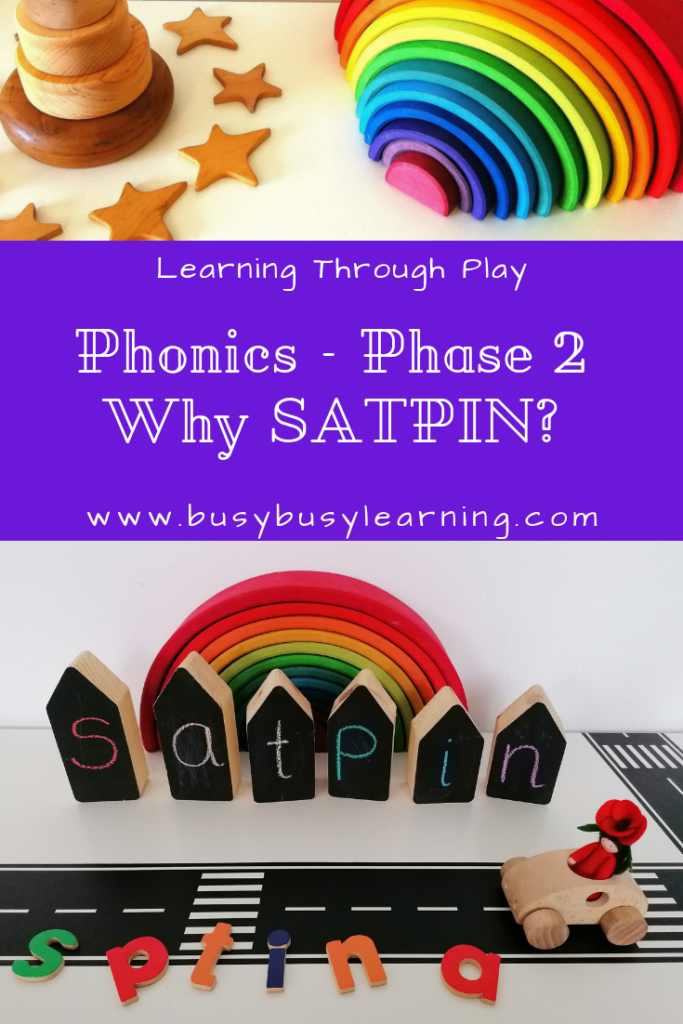 Phonics - Phase 2 - SATPIN - Grapheme - phoneme - digraph - fun phonics - phonics games - phonics activities - learning through play - blending - segmenting